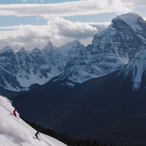 Skiing Alberta Rockies